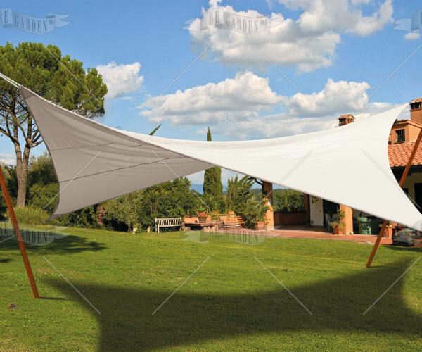 Vela triangolare 5x5x5 m - 4